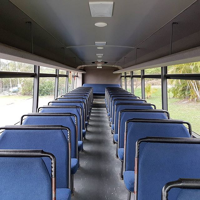Our Bus is 12 metres in length and seats 57 passengers. We will shortly be removing all of the seats and plan to install some coach seats with lap sash belts for the family.  #busconversion #buslife #bus #tinyhouse #skoolie #skoolieconversion #vanlife #offgrid #busbuild #rvlife #busnut #busrollwithit #livesmaller #nomad #happycamper #wander #wanderlust #homeiswhereyouparkit #ontheroad