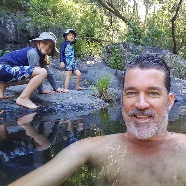 Escaping the Brisbane heat yesterday! We found a perfect little swimming spot at Cedar Creek near Samford. The water was simply delightful! It's the school holidays and I'm trying to find the balance between getting our bus conversion project done and creating a few adventures and experiences for the boys. They've been so patient with me and the time I'm putting into the bus (whilst Sam is away at work each day), so it was awesome to unwind and have a laugh together in the creek yesterday.  #busconversion #buslife #bus #tinyhouse #skoolie #skoolieconversion #vanlife #offgrid #busbuild #rvlife #busnut #busrollwithit #livesmaller #nomad #happycamper #wander #wanderlust #homeiswhereyouparkit #ontheroad #exploreaustralia #discoveraustralia #australia #seeaustralia #thisisqueensland #visitbrisbane