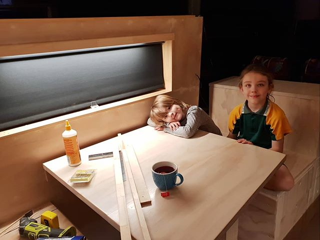 A team meeting tonight to review the newly installed pelmet lights in the dining area. The review panel were more than satisfied with the brightness and ambience of the new lighting! Another job ticked off my list!  #busconversion #buslife #bus #tinyhouse #skoolie #skoolieconversion #vanlife #offgrid #busbuild #rvlife #busnut #busrollwithit #livesmaller #nomad #happycamper #wander #wanderlust #homeiswhereyouparkit #ontheroad #buslifeaustralia #buslifeau
