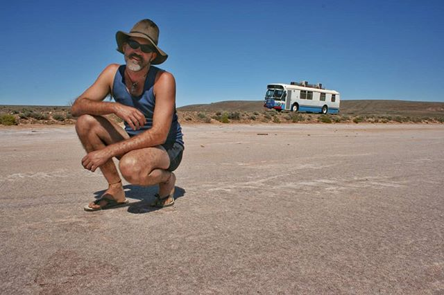 Flashback to an epic solo roadtrip in my first house on wheels - Alice the bus. It was in January 2009 and a very hot Australian summer. After many years living at Uluru in the Northern Territory, I packed up and drove Alice back to Queensland via some of my favourite outback roads in South Australia and New South Wales. Alice kept overheating so there were frequent stops, a couple of breakdowns and more flat tyres than I care to remember! But what an incredible adventure. We sold Alice the bus earlier this year to make room in the yard for Bronte the bus. I can't wait to travel these roads again but this time in Bronte and with my family. Not long now!  #busconversion #buslife #bus #tinyhouse #skoolie #skoolieconversion #vanlife #offgrid #busbuild #rvlife #busnut #busrollwithit #livesmaller #nomad #happycamper #wander #wanderlust #homeiswhereyouparkit #ontheroad #buslifeaustralia #buslifeau #outback #roadtrip #australia #adventure